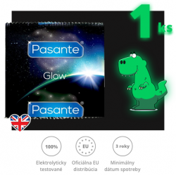 Pasante Glow In The Dark  1ks