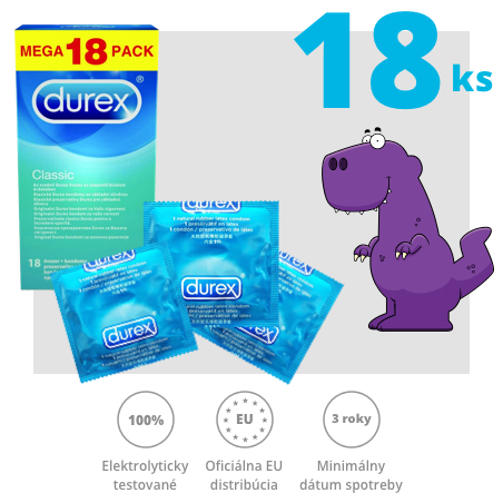 Durex Classic 18ks