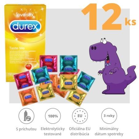 Durex Taste Me / Select 12ks