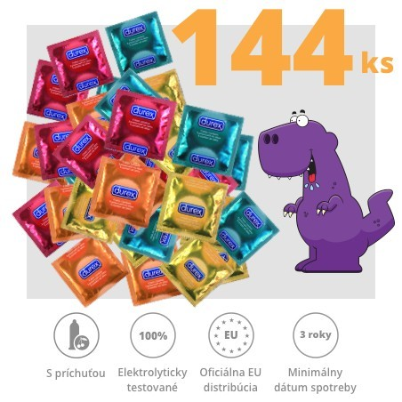 Durex Taste Me/Select 144ks