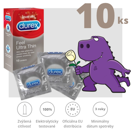 Durex Feel Ultra Thin 10ks