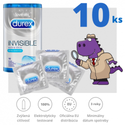 Durex Invisible Extra Thin Extra Sensitive 10ks