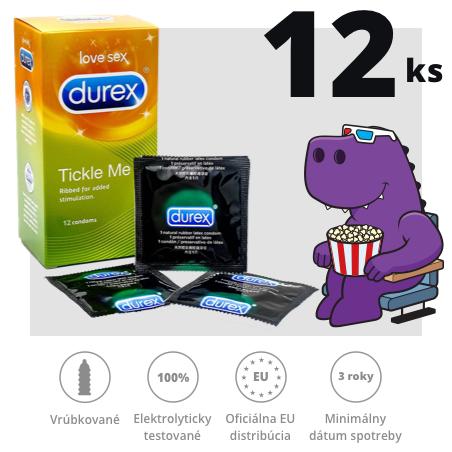 Durex Tickle Me 12ks